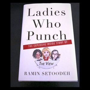 Ladies Who Punch Hardcover Book